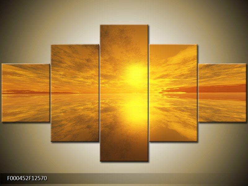 Vícedílný pětidílný obraz na stěnu