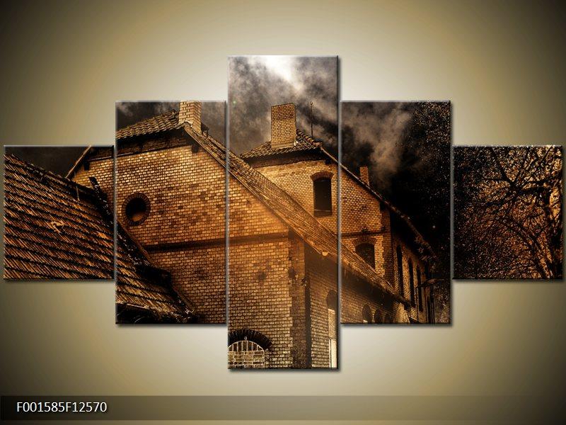 Vícedílný tištěný obraz do bytu pětidílný