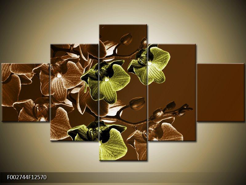 Vícedílné moderní obrazy pětidílné
