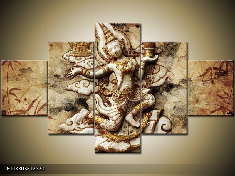 Vícedílné moderní obrazy pětidílný