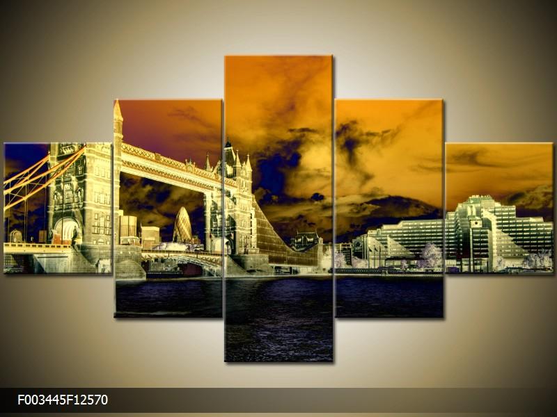 Vícedílné pěkné obrazy pětidílné