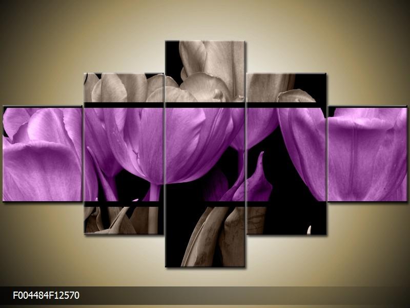 Vícedílné levné obrazy pětidílné