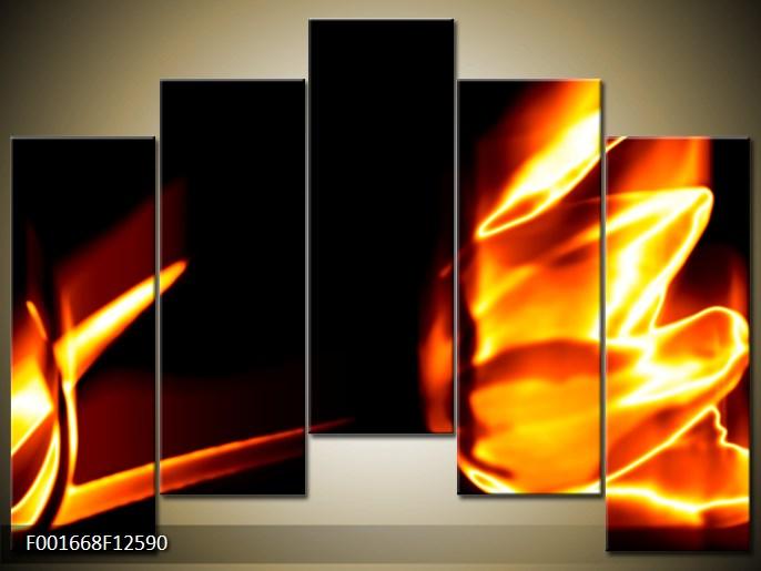 Obrazy - oheň