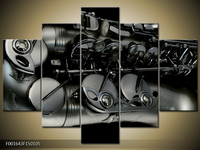 Vícedílný moderní 5D obraz