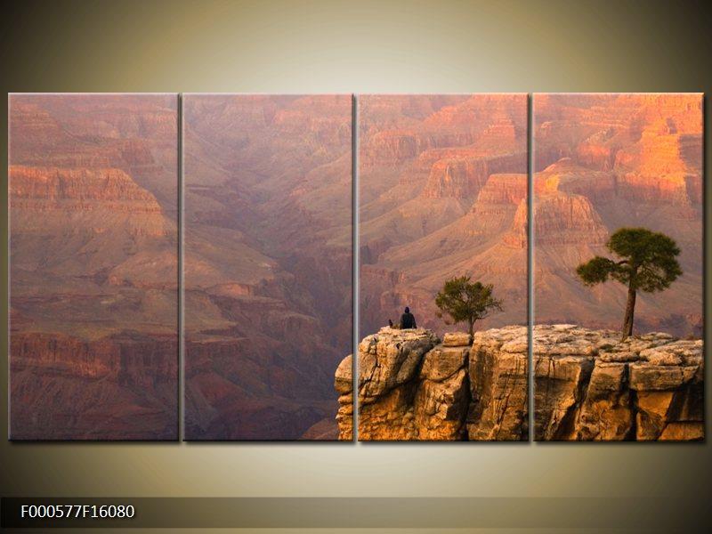 Vícedílný moderní obraz čtyřdílný