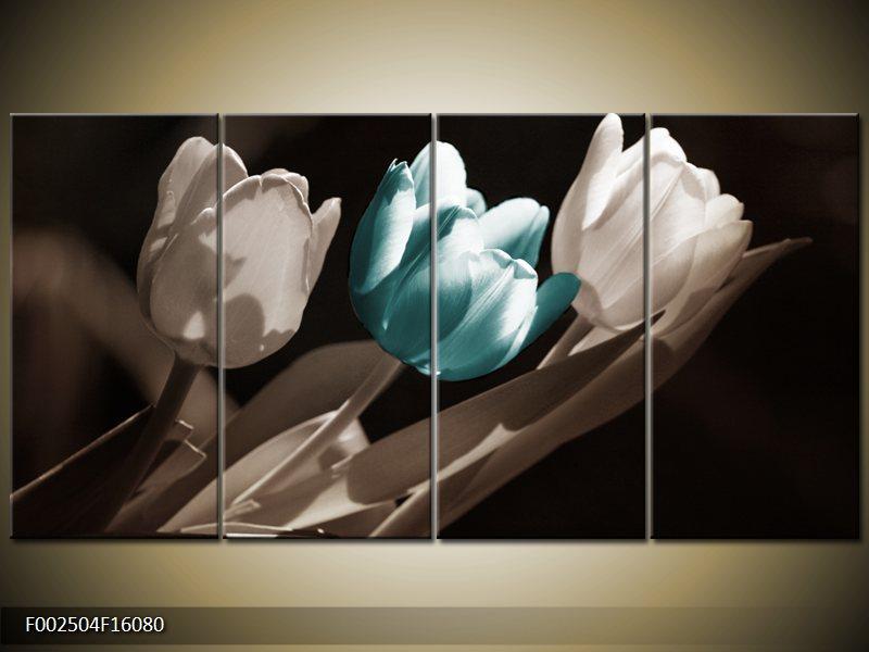 Vícedílný moderní čtyřdílný obraz
