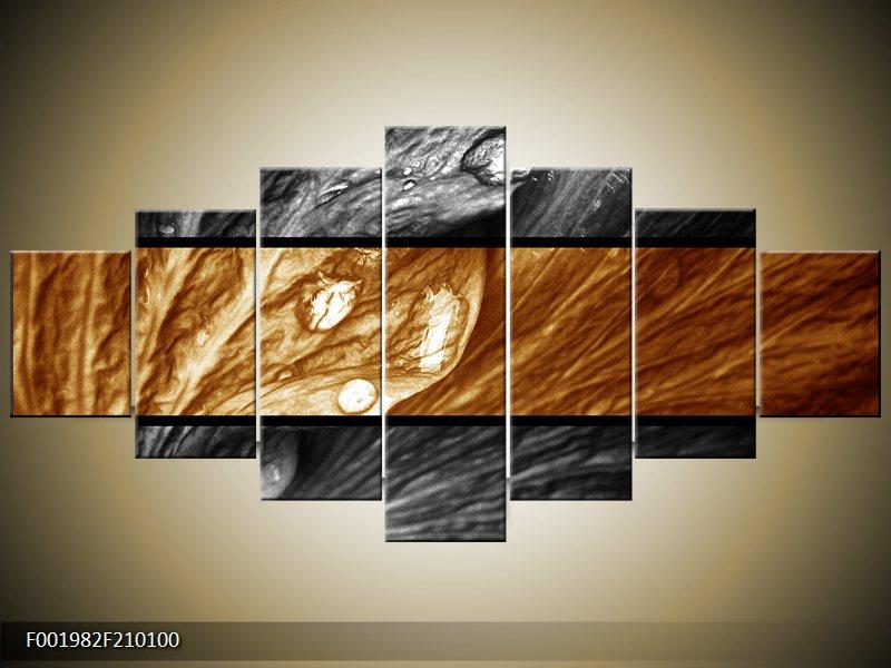 Vícedílný moderní obraz sedmidílný