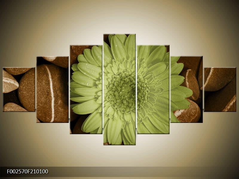 Vícedílný moderní sedmidílný obraz