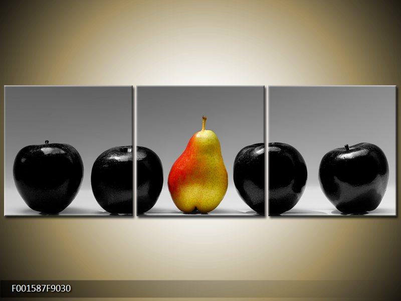 Vícedílný moderní obraz třídílný