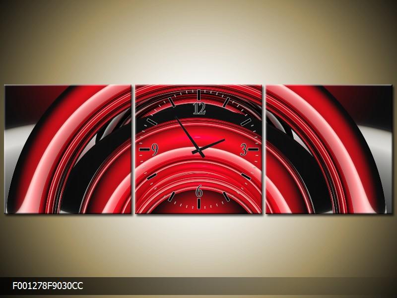 Obraz s hodinami
