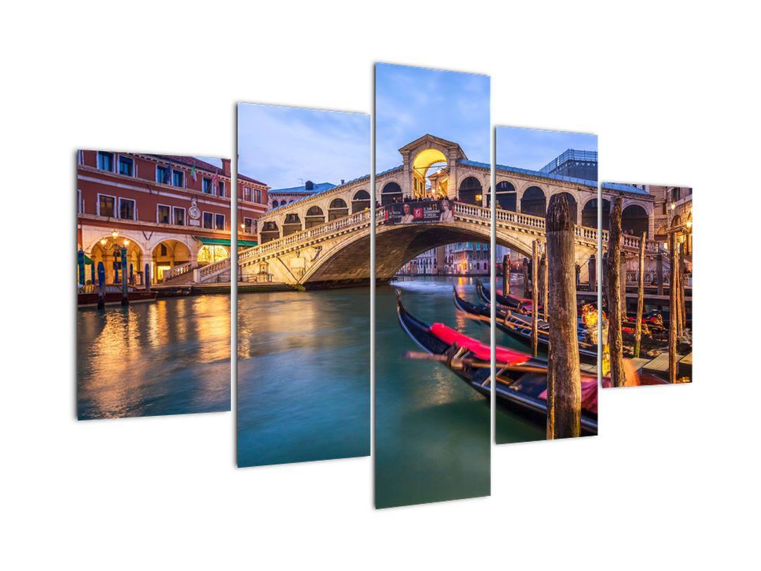 Obraz na stěnu - most v Benátkách