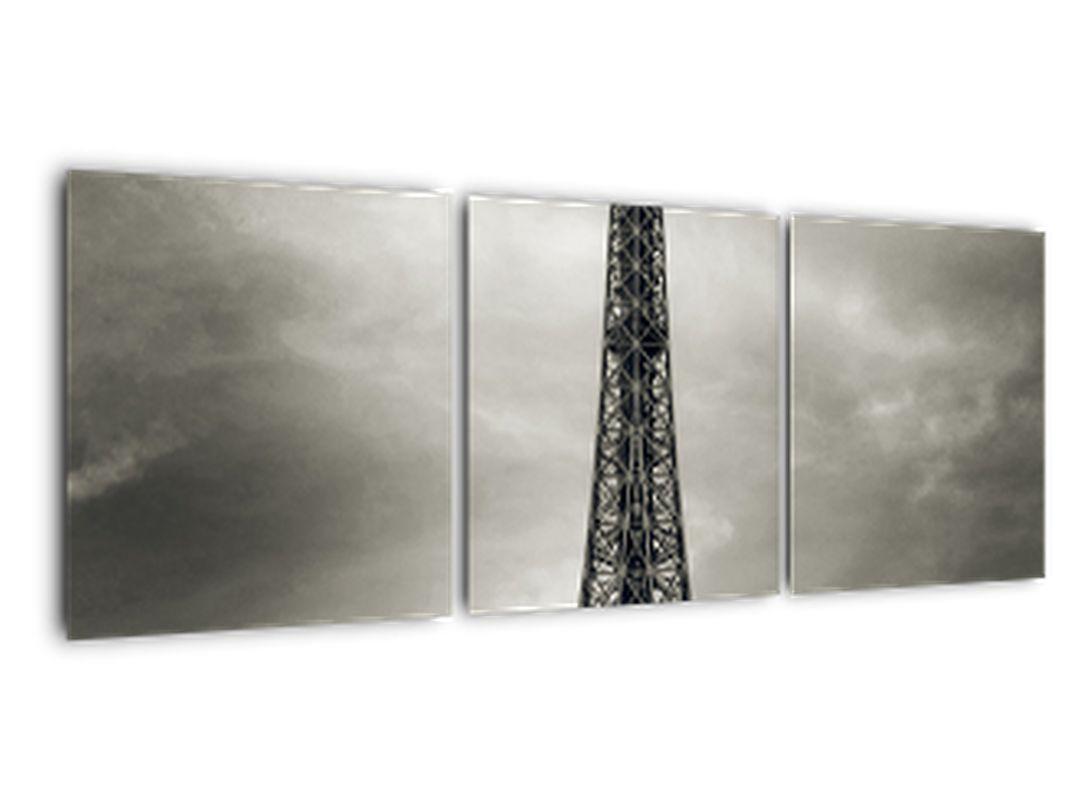 Abstraktní obraz Eiffelovy věže