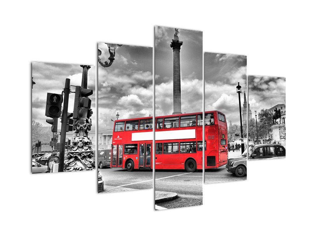 Obraz: ulice Londýna