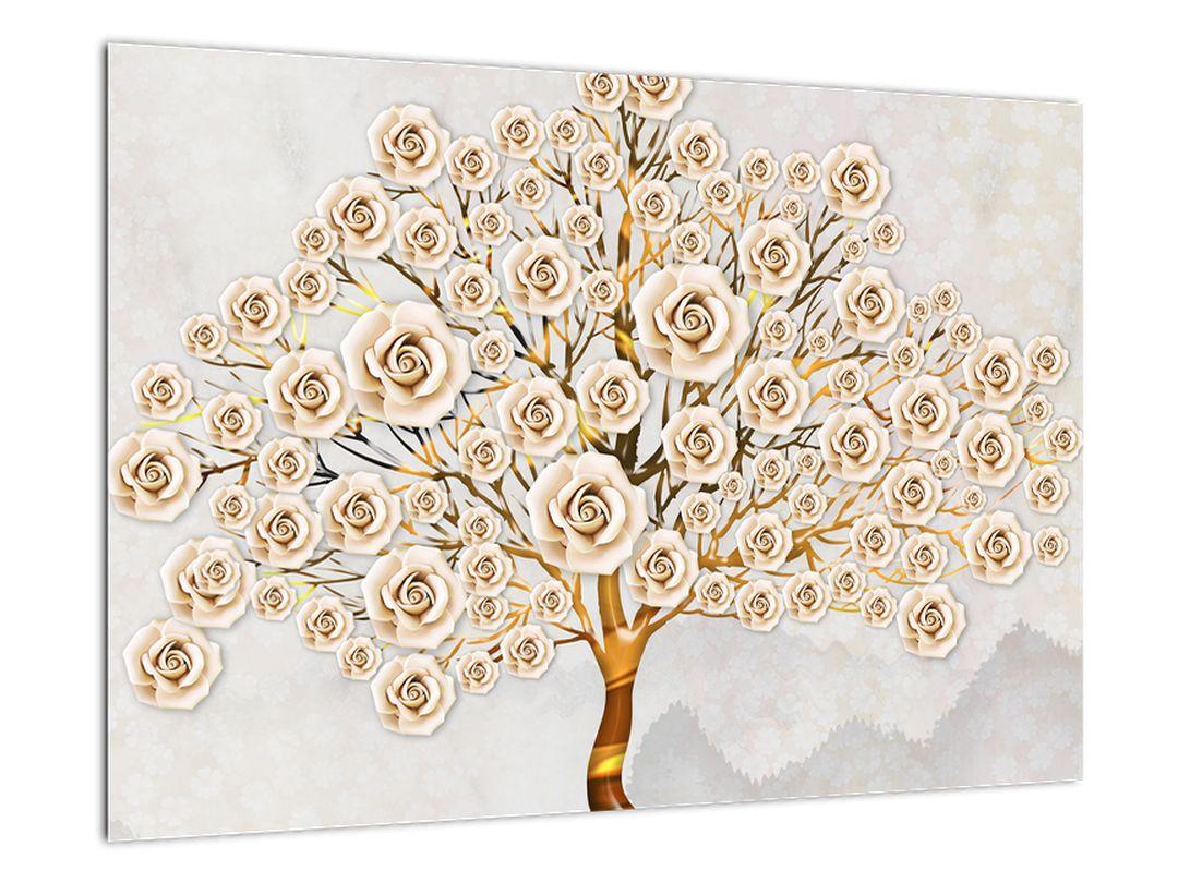 Zlatý strom - moderní obraz