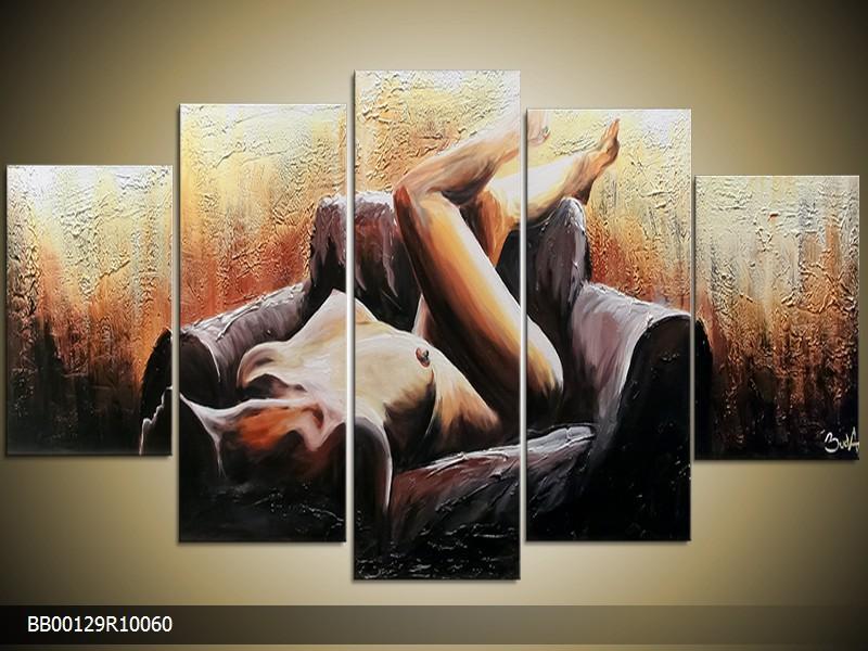 Malovaný obraz - šířka 100cm
