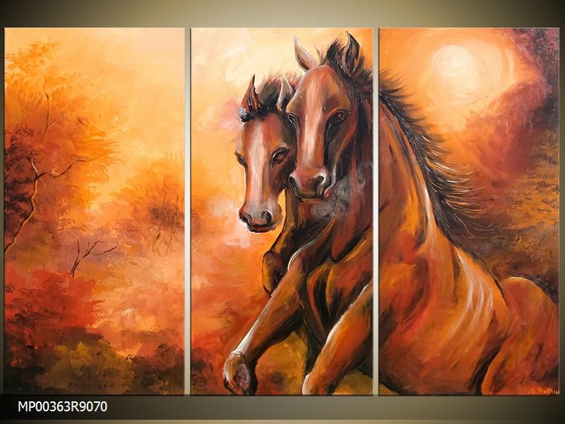Malovaný obraz - šířka 90cm