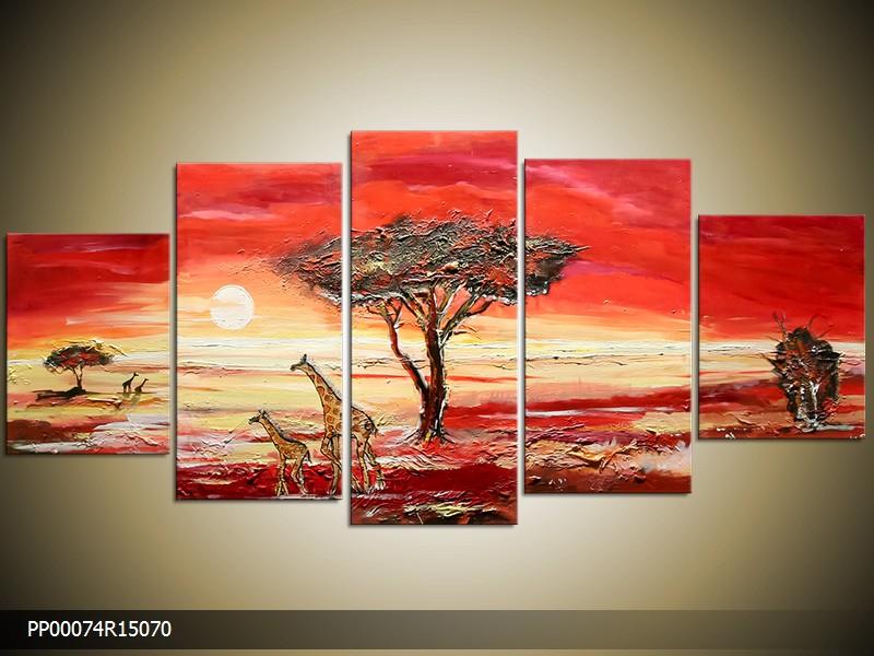 Malovaný obraz - šířka 150cm